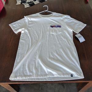 Hurley Floral Pocket T-shirt M